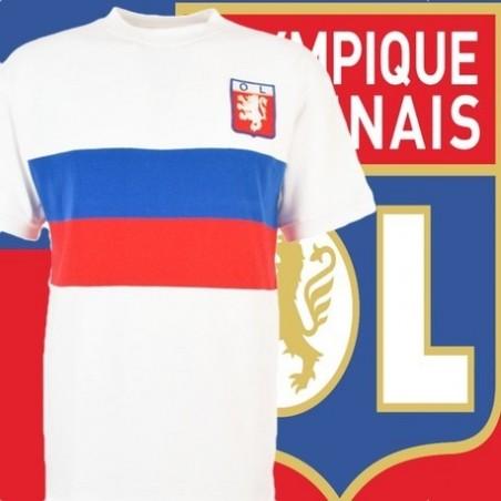 Camisa retrô Olympique de Lyon 1964.