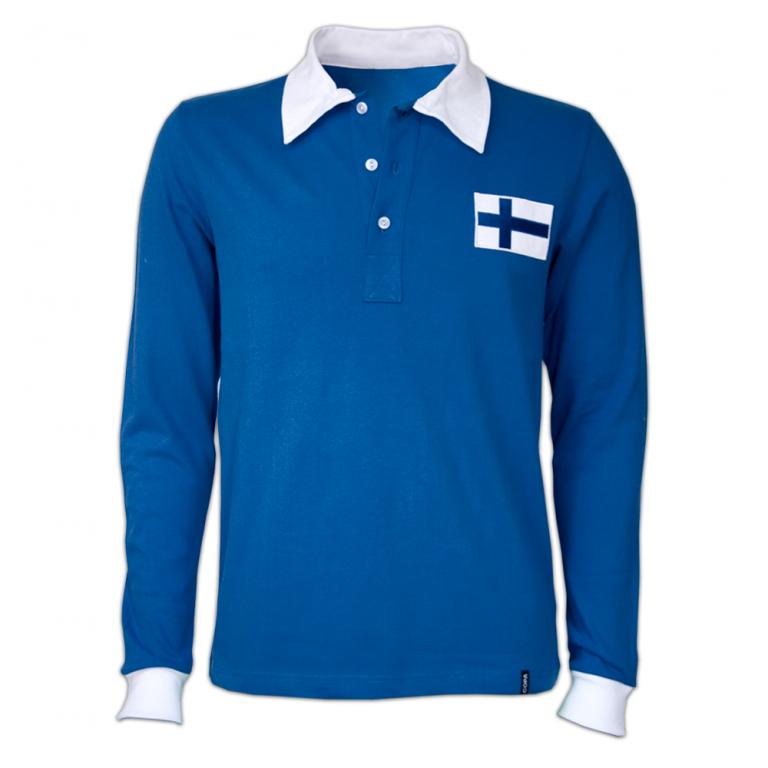 Camisa retrô Holando goleiro azul ML