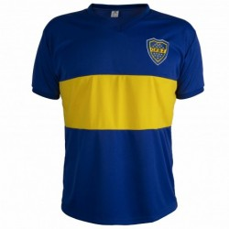 Camisa Retrô Boca Juniors1981