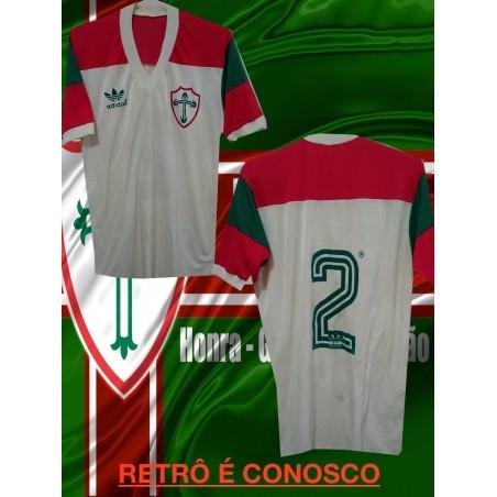 Camisa retrô logo  Portuguesa (MANGA LONGA)- 1987