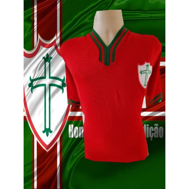 Camisa retrô Portuguesa desportos -  1960