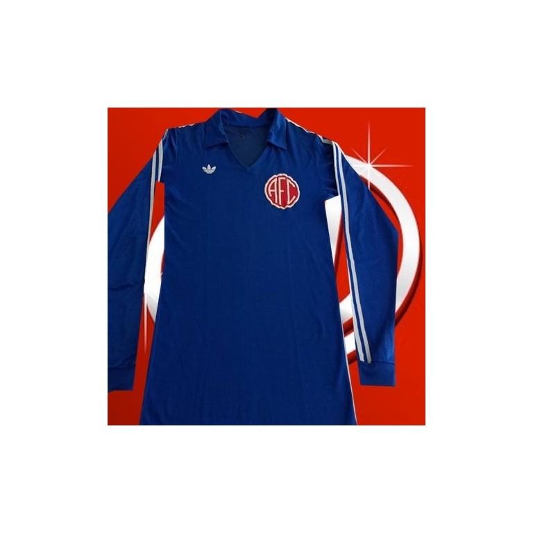 Camisa  retrô América azul goleiro ML- RJ