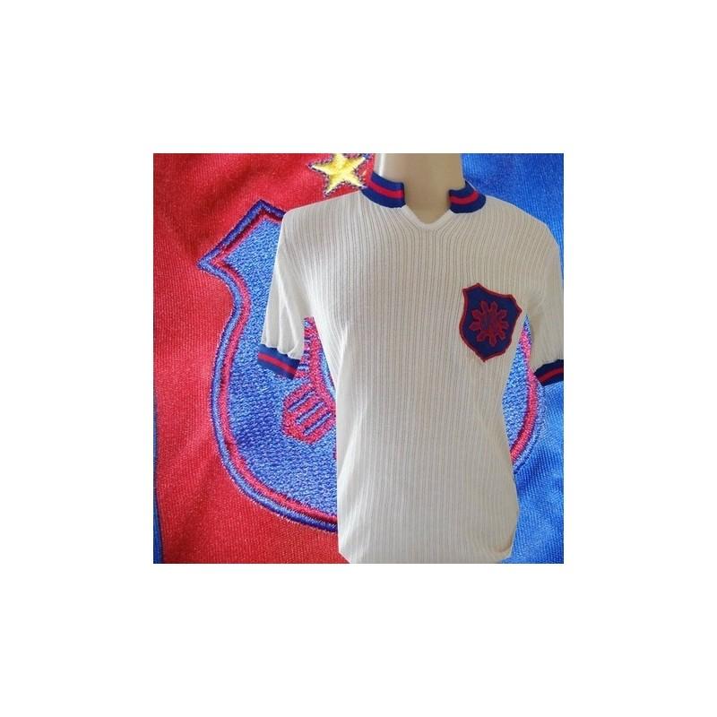 Camisa retrô  branca  Bonsucesso Futebol Clube 1977