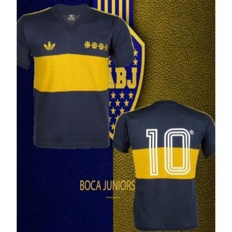 Camisa Retrô Boca Junior Maradona CABJ -