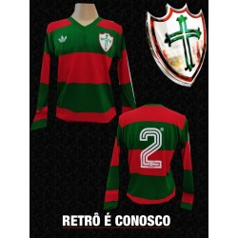 Camisa retrô Portuguesa desportos  - 1977