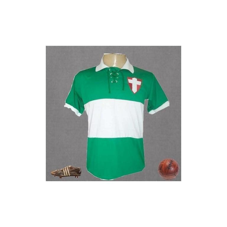Camisa retrô Palmeiras Cruz de Savoia 1917.