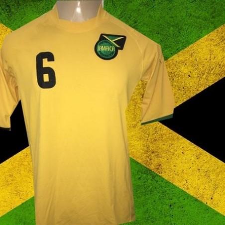 Camisa Retrô   Jamaica  amarela -1990