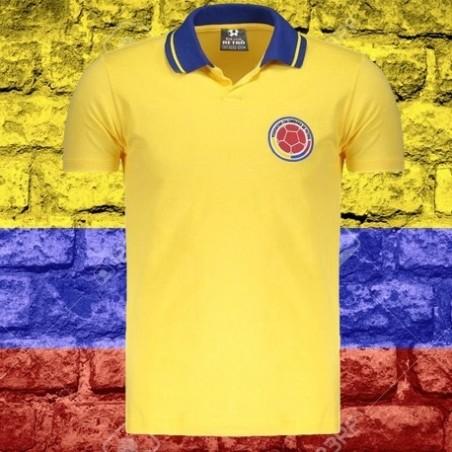 Camisa retrô  colombia 1987